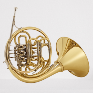 A Paxman Series 4 Double French Horn