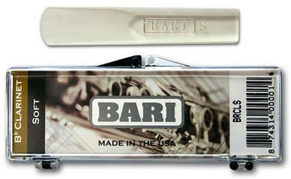 a box with Bari synthetic reed models