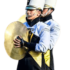 Cymbals Marching Band Player