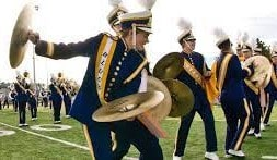 Cymbals Marching Section