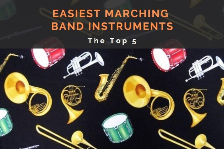 Easiest Marching Band Instruments