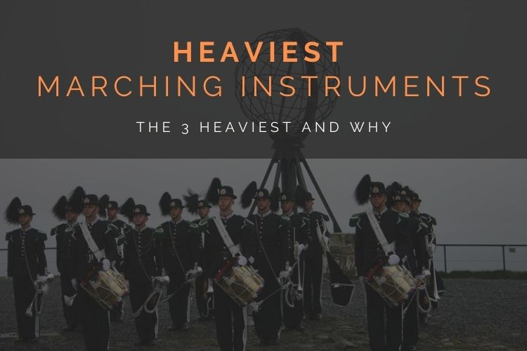 The Heaviest Marching Band Instruments