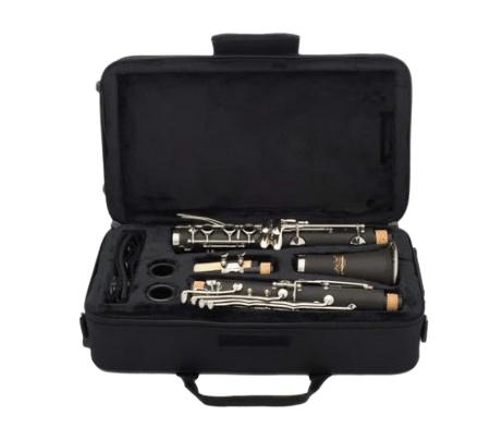 Student Clarient Jean Paul CL-300 laying on a case