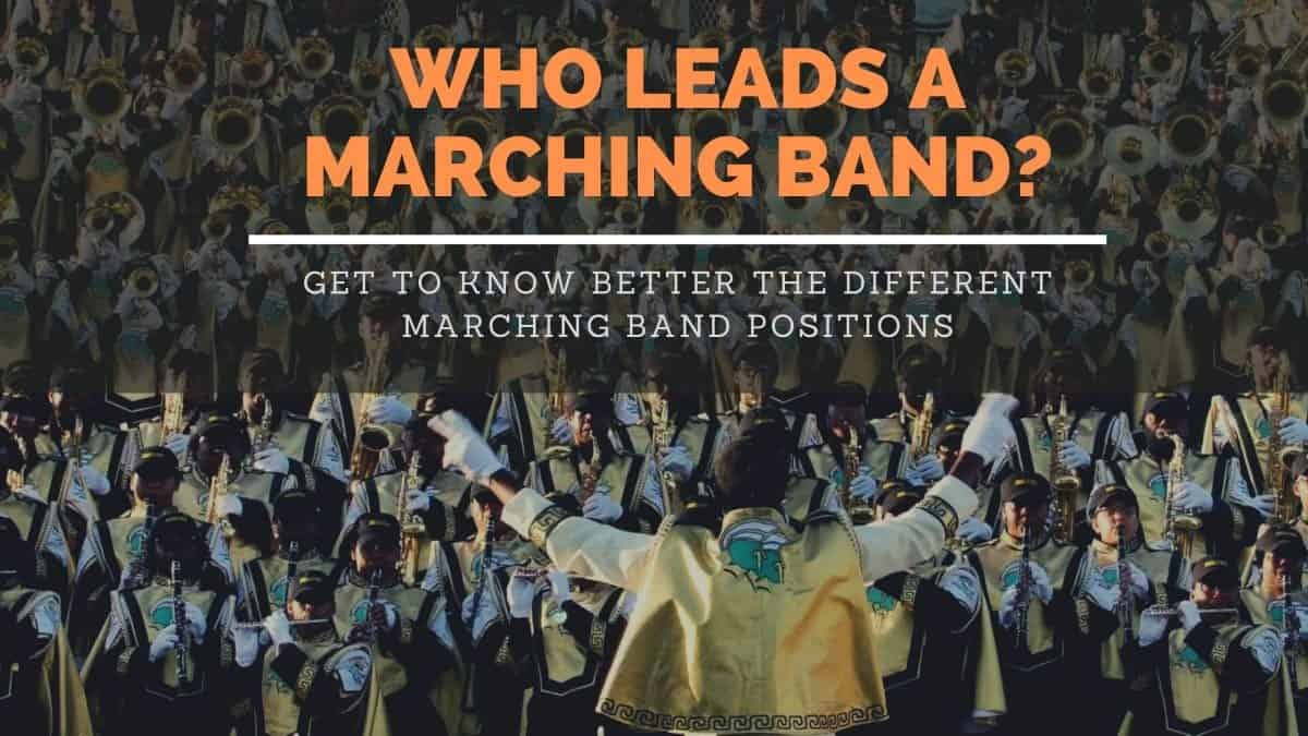 Leaders of a Marching Band