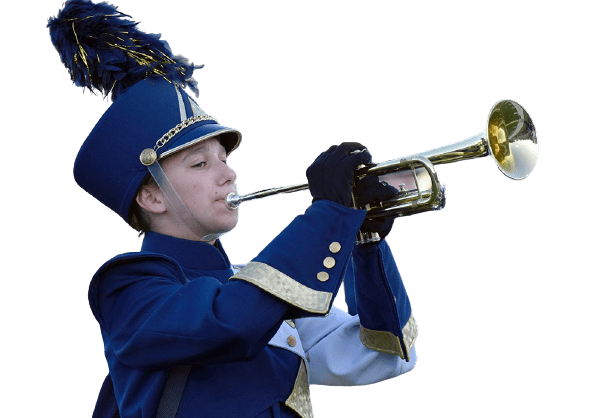 Marching Band Trumpet Player - Mars Area High School