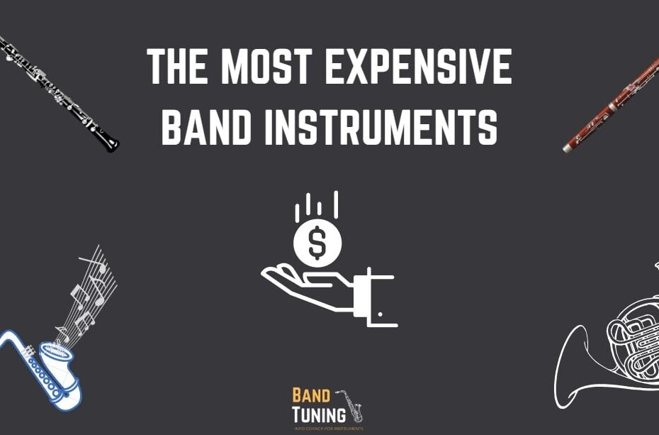 the four most expensive band instruments