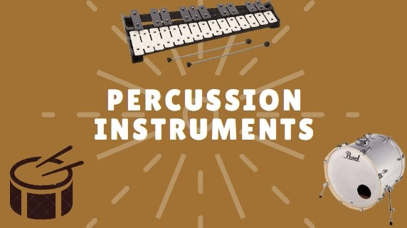The 3 Percussion Instruments of a Typical Band