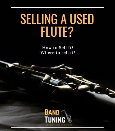 Banner of how to sell a used flute