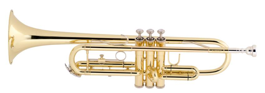 The Bach TR300H2 Bb Trumpet