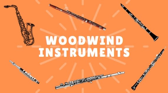 Woodwind Instruments in a Band