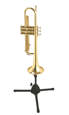 a trumpet stand