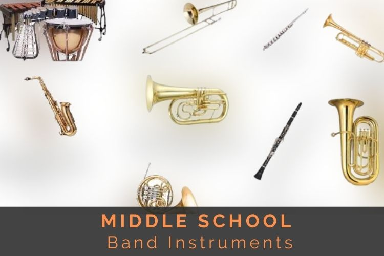 middle school band instruments