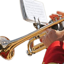 trumpet marching music stand